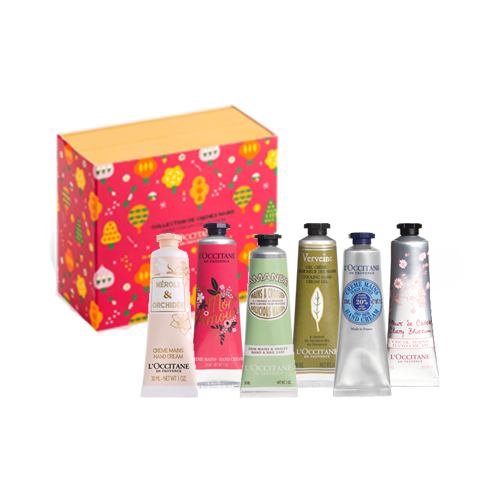 Hand Creams Collection Holidays