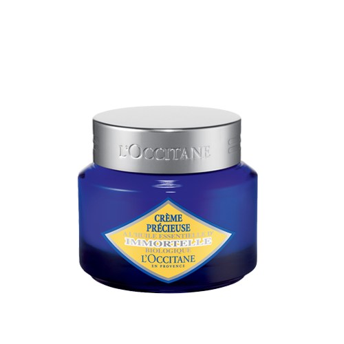 Krim Wajah Anti-Aging Immortelle Precious Cream L'Occitane