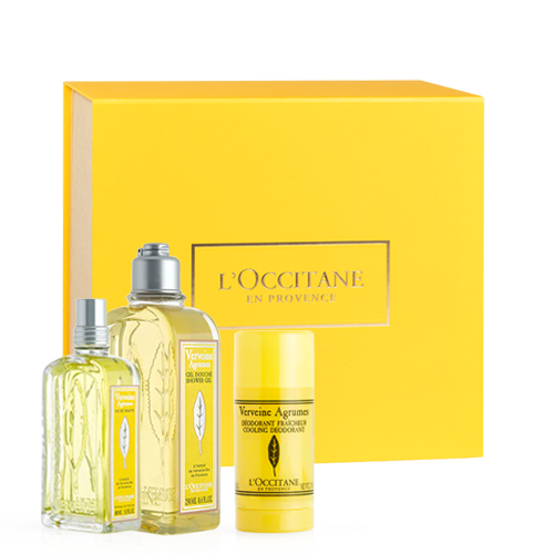 Refreshing Citrus Verbena Gift Set
