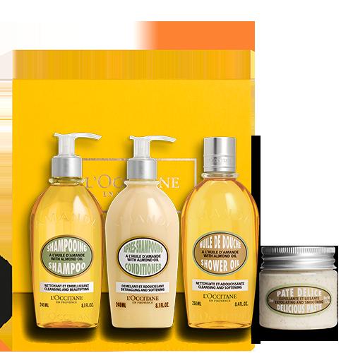 Almond Shower Essentials