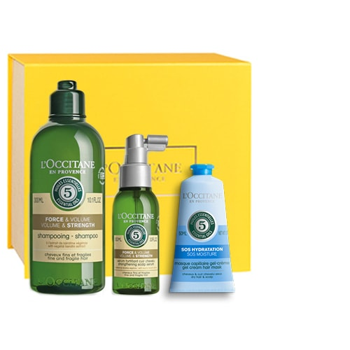 Hair Care Set Volume and Strengthening