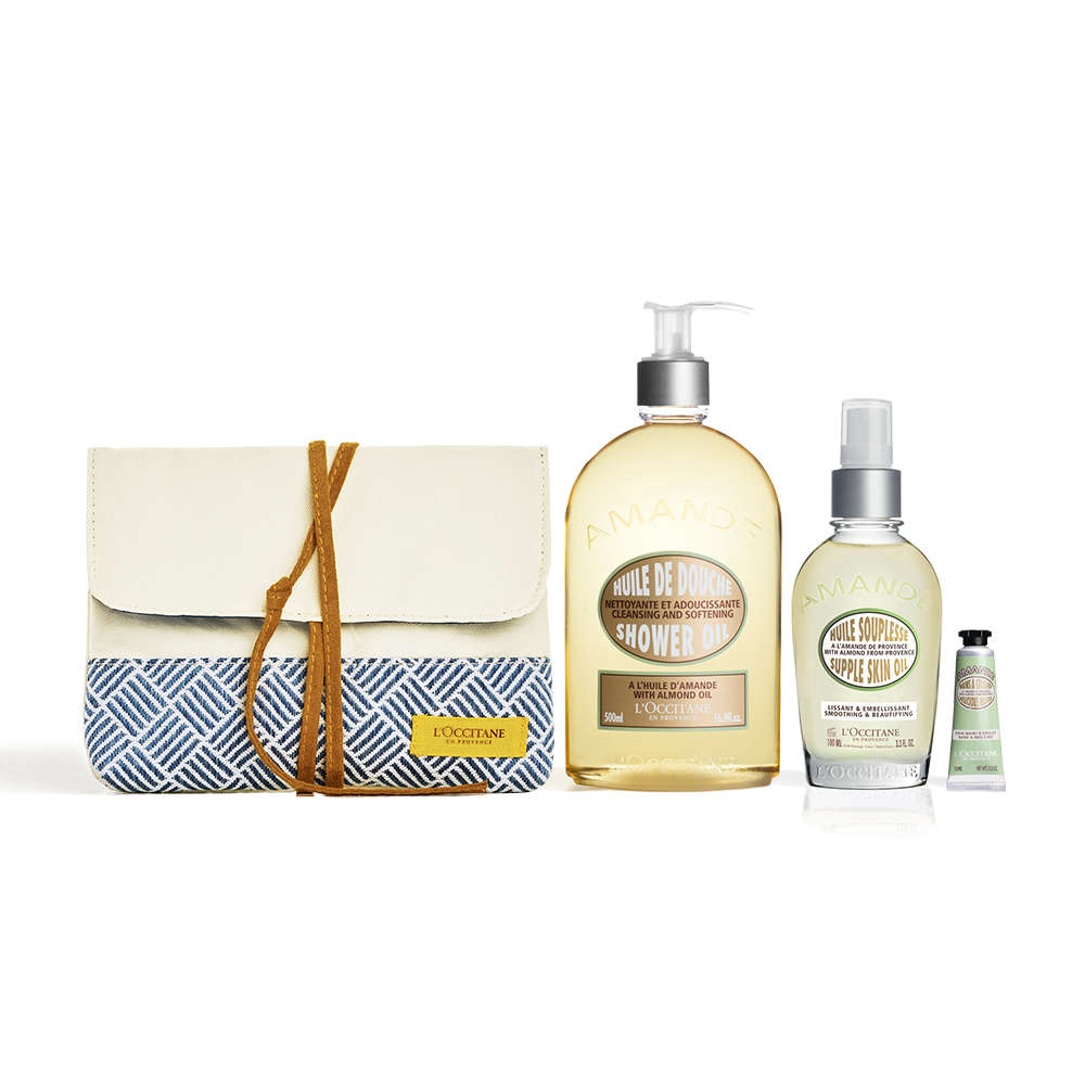 Almond Body Pampering Set