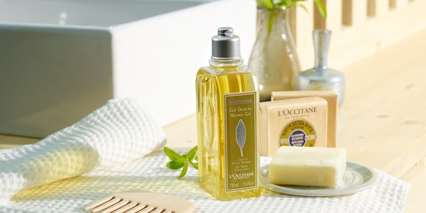Verbena bath & shower body care - L'Occitane