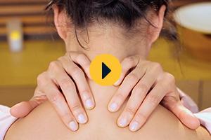 Massage relaxant du cou