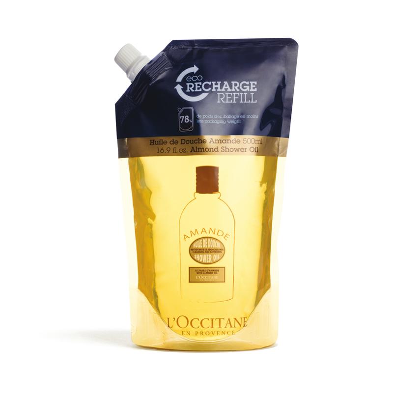 Nachfüllpackung Mandel Duschöl 500 ml