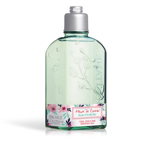 CHERRY BLOSSOM CERISIER EAU FRAICHE SHOWER GEL 250ML