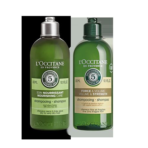 Nourishing & Volume and Strength Alternate Shampoo Bundle