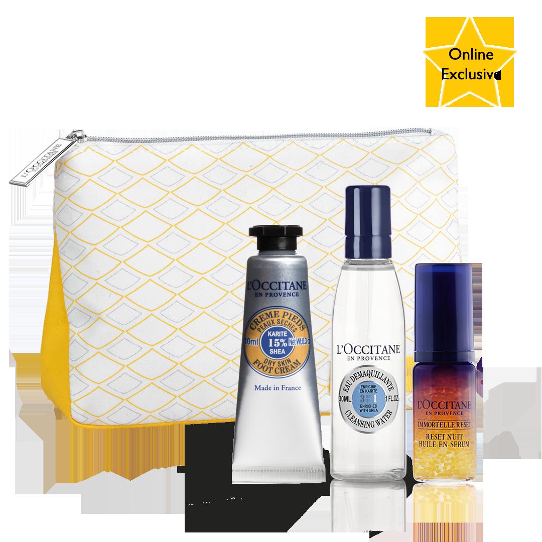 Gratis! Nourished Skin Gift Set