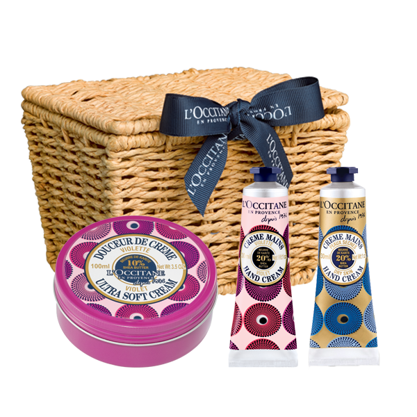 Shea Violet Collection Basket