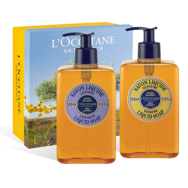 Shea Liquid Soap Duo Set
