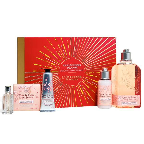 Holiday Cherry Blossom Gift Set