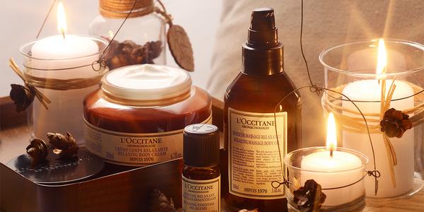 at-home spa time - L'Occitane