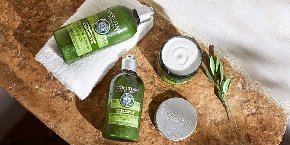 Aromachology nourishing care - l'Occitane mobile