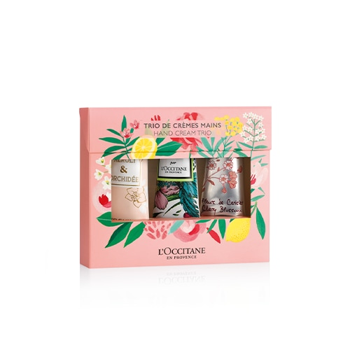 Limited Edition Floral Hand Cream Trio