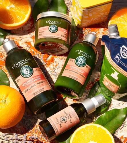 Treat your hair with love - L'OCCITANE