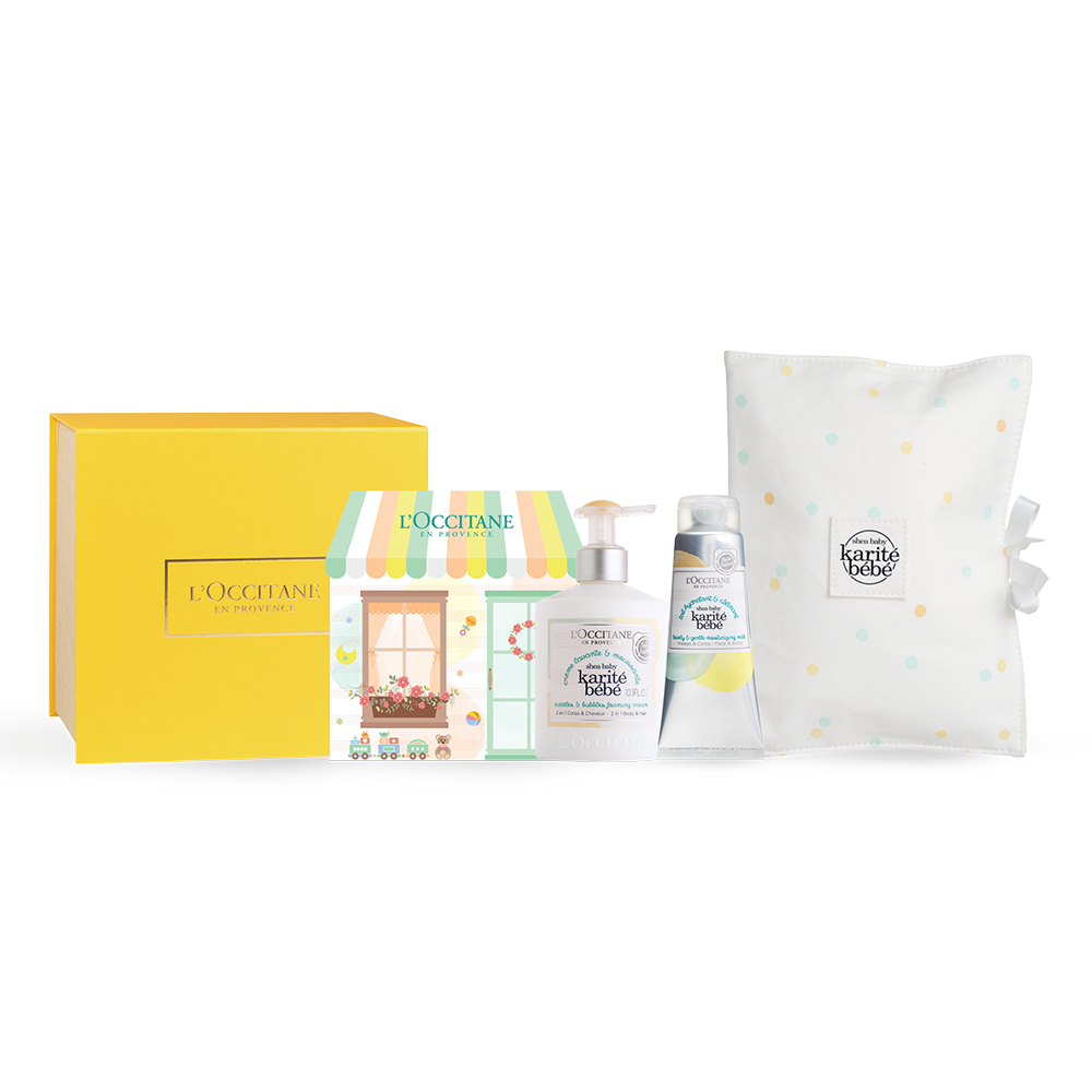 Shea Baby Pampering Set