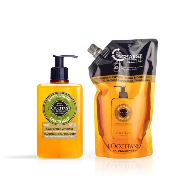 Verbena Liquid Soap Duo