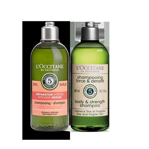 Intensive Repair and Body & Strength Alternate Shampoo Bundle