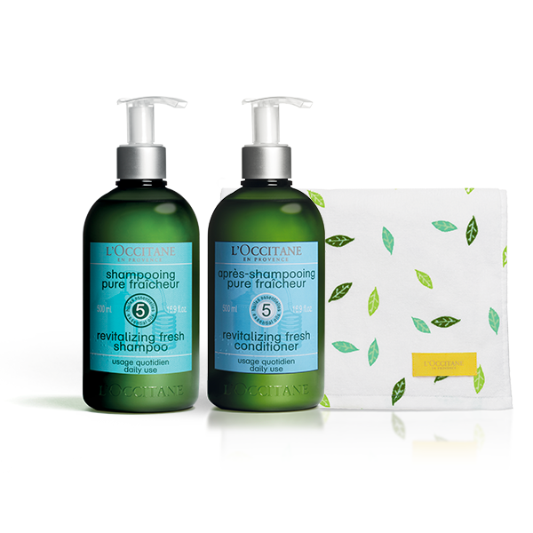 Aromachologie Revitalising Haircare Bundle