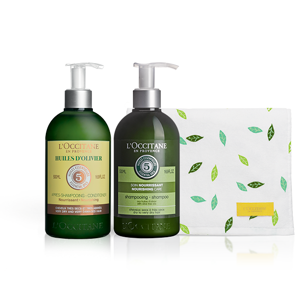 Aromachologie Nourishing Haircare Bundle