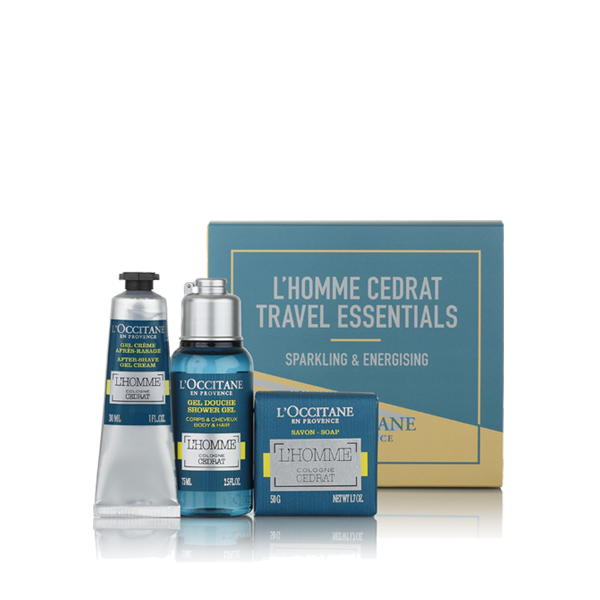 L'Homme Cédrat Travel Essentials