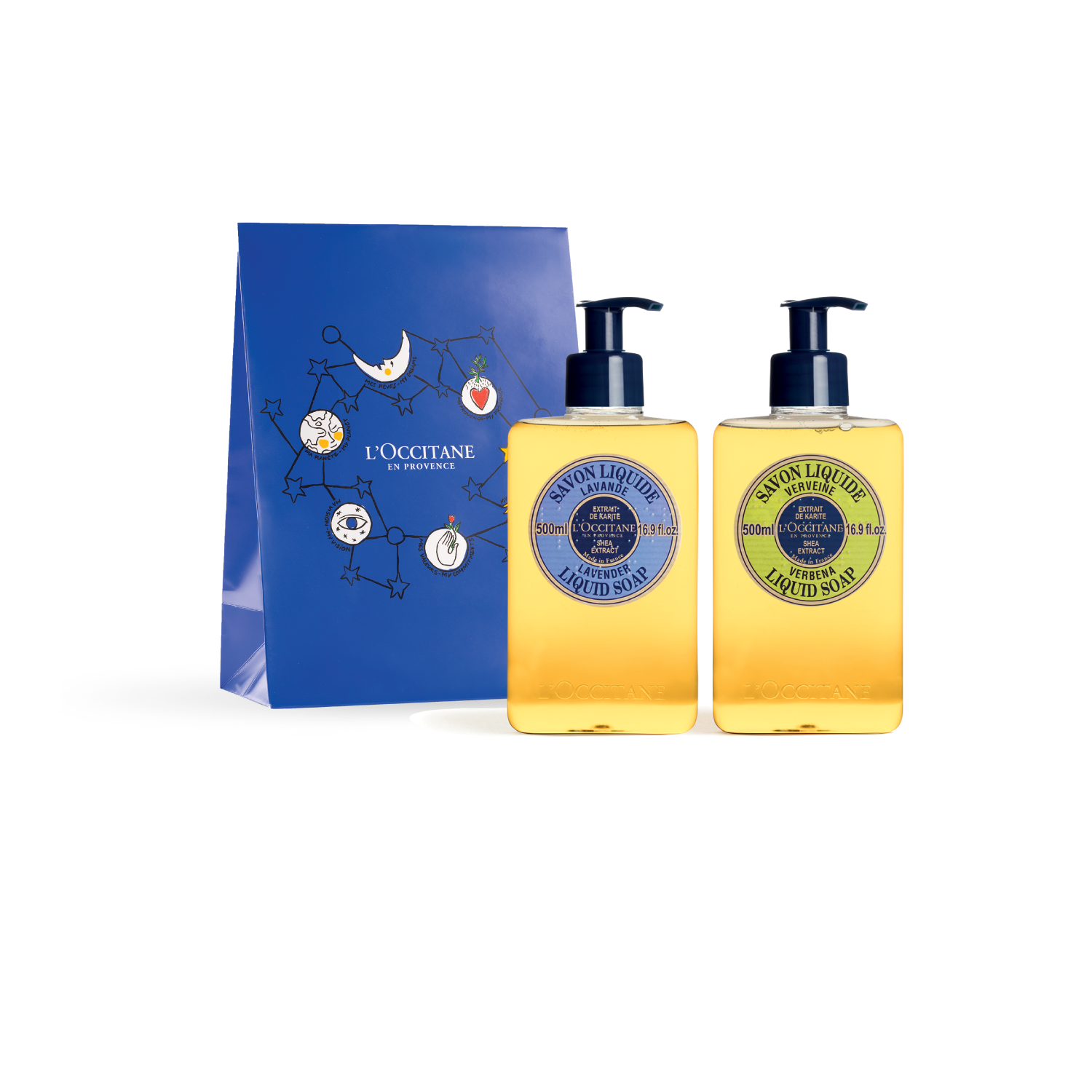 Xmas Liquid Soap DUO Set