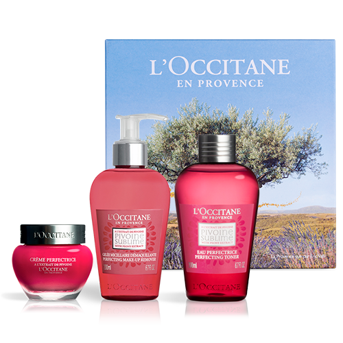 Peony Face Care Gift Set