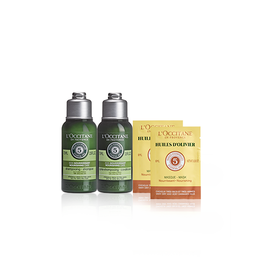 Aromachologie Nourishing Travel Set
