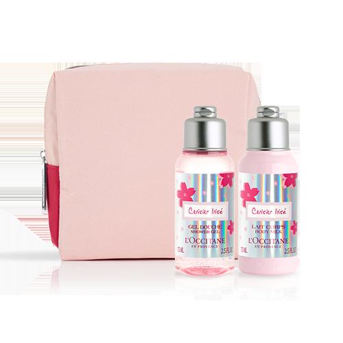 購物獎賞 - 限量版櫻花果香身體護旅行套裝*