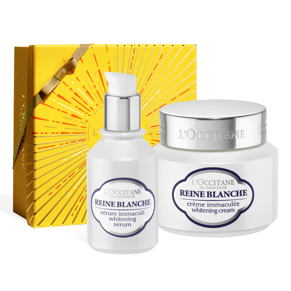 Reine Blanche Serum & Cream Set