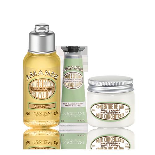 Almond Delight Body Care Trio