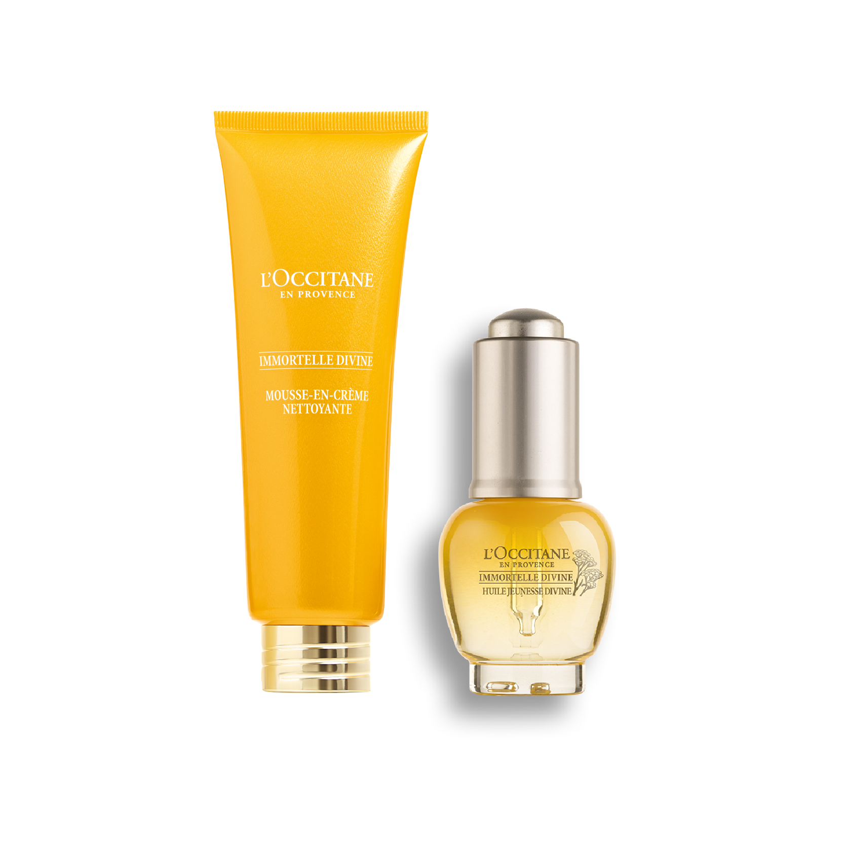 Immortelle Divine Youth Oil and Cleansing Bundle