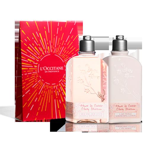 Cherry Blossom Body Care Duo