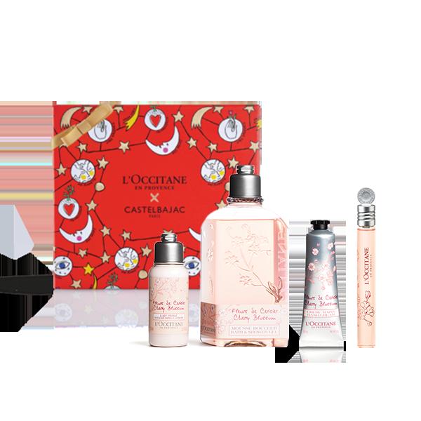 Flirty Cherry Blossom Body Set