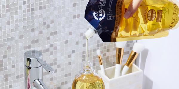 Recharge d'huile de beauté pour la douche – L'Occitane