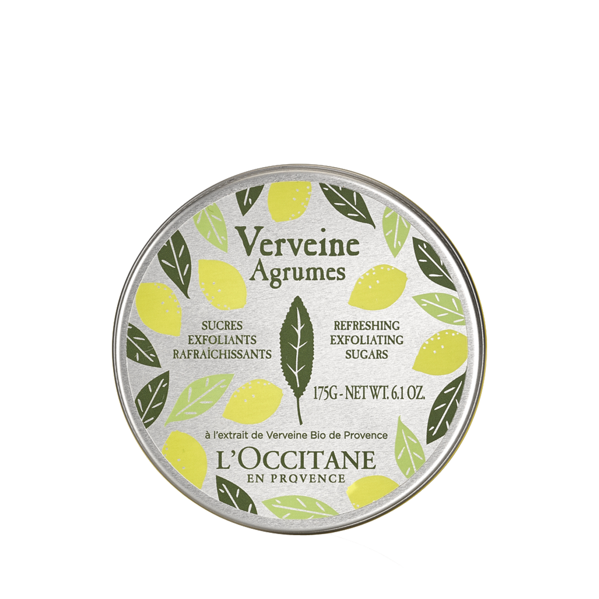 Citrus Verbena Refreshing Exfoliating Sugars Body Scrub L'Occitane