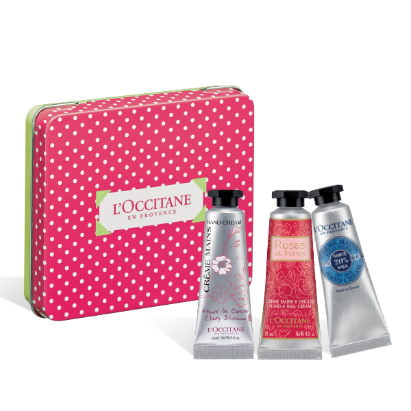 Soft & Tender Hand Cream Pink Box Set