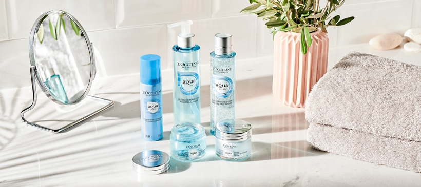 Products of Aqua Réotier range
