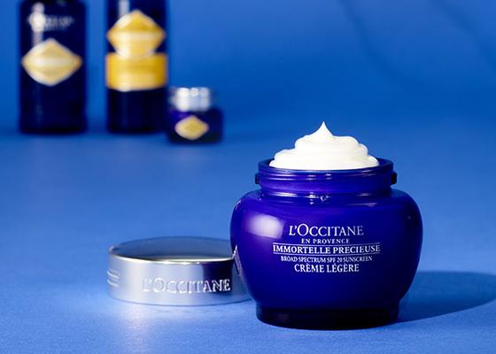 Immortelle Precious Light Cream SPF 20 - L'Occitane