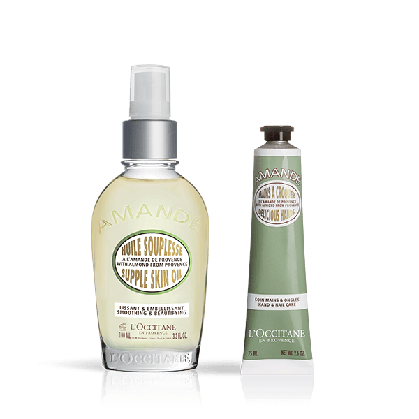 Almond Body And Hand Care Duo - L'Occitane