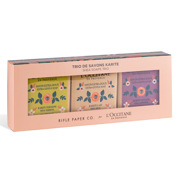 Holiday Shea Soap Riffle Paper Co. Set