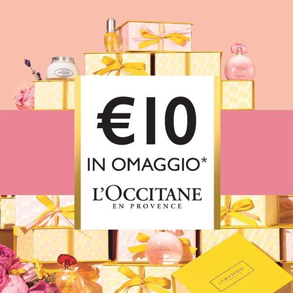 Buono Regalo €10 per acquisti superiori a €30