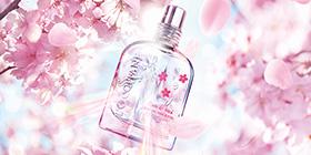 心に、桜プリズム。毎日をときめき色に変える。ジューシーチェリー。