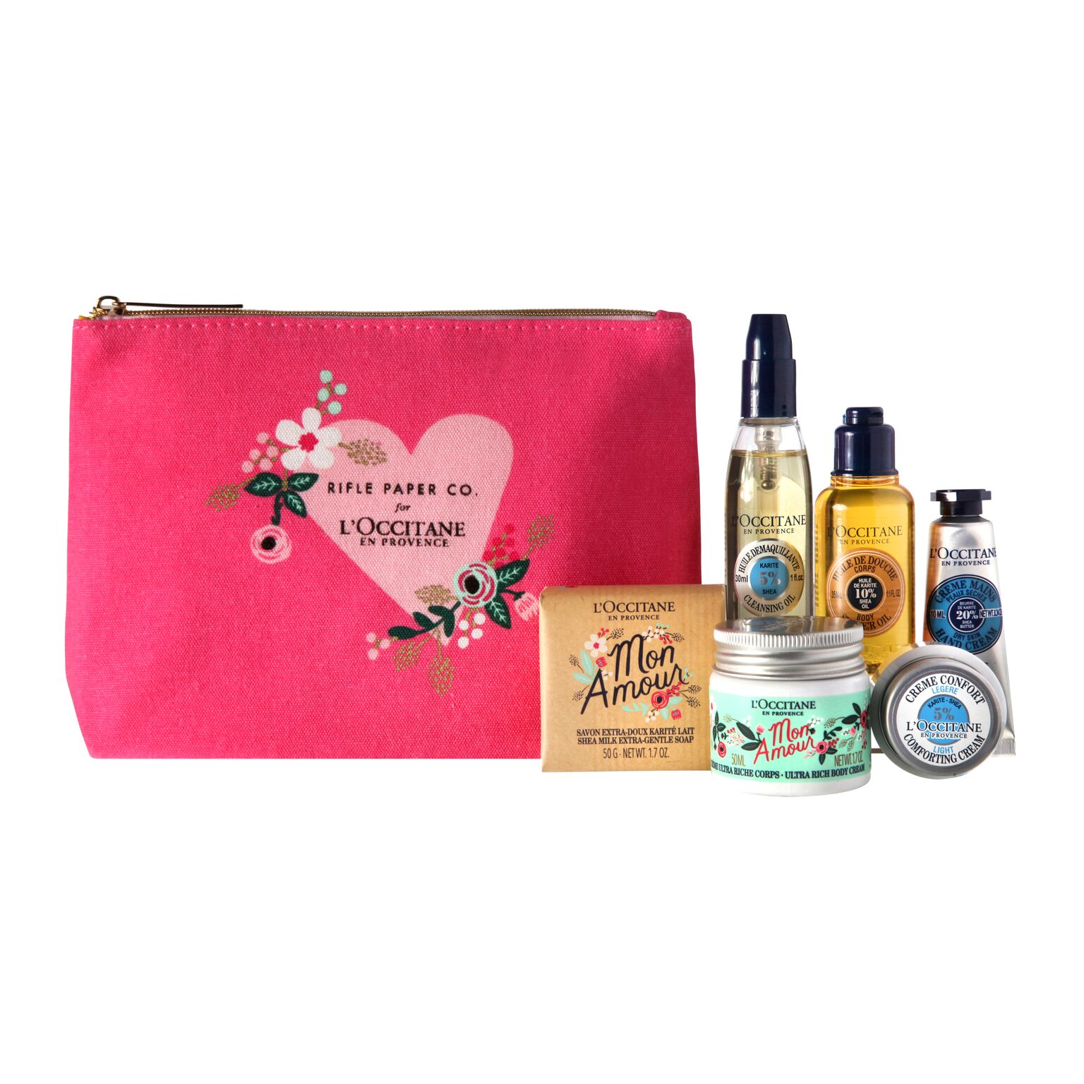 L'Occitane Rifle Paper Co. Shea Butter Loves Collection