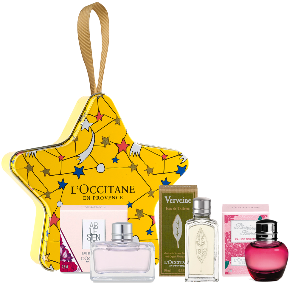 Online Exclusive! Holiday Perfume Star Gift