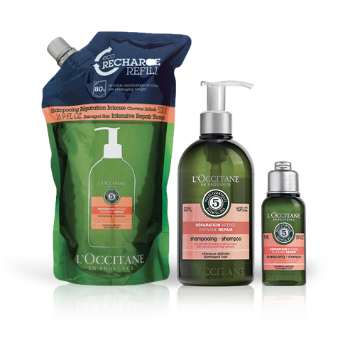 Aromachologie Intense Repairing Shampoo Eco-refill Bundle
