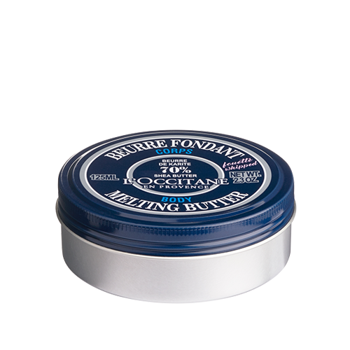 Shea butter from L'Occitane is natural moisturizer for dry skin