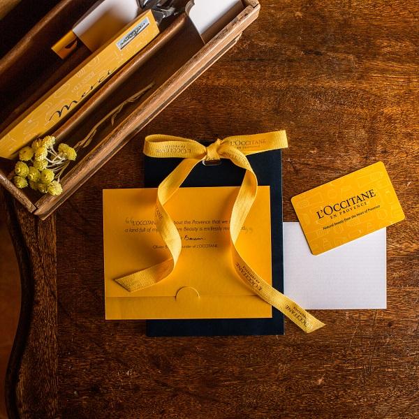 cartes et e-cartes cadeaux | L'OCCITANE