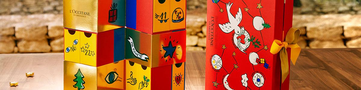 L'Occitane x Castelbajac Paris - Advent Calendar of Dreams