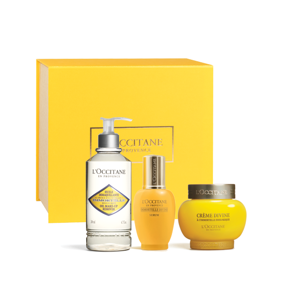 Immortelle Divine Face Care Trilogy